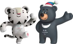 Soohorang (left), the mascot of the 2018 Winter Olympics, and Bandabi (right), the mascot of the 2018 Winter Paralympics Soohorang (Korean: 수호랑) and Bandabi (Korean: 반다비) are the mascots of the PyeongChang 2018 Olympic and Paralympic Winter Games to be held in Pyeongchang, Gangwon, South Korea. Soohorang is a white tiger and Bandabi is an Asiatic black bear.