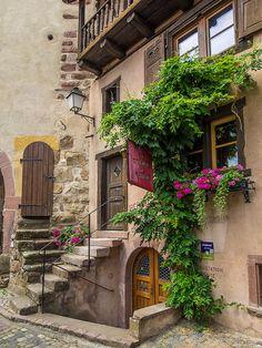 Turckheim, Alsace, France...