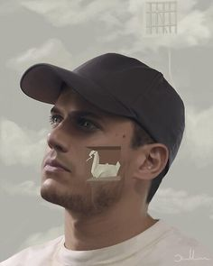 """An illustration of Michael scofield from the tv show """"Prison Break"""". PS… That's the window they escaped through in Fox river (top right corner) Prison Break Quotes, Prison Break 3, Wentworth Miller Prison Break, Broken Tattoo, Michael Scofield, Ian Harding, Image Categories, Film Books, Wedding Humor"""
