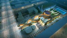Muri di sabbia e oasi hi-tech per il Padiglione degli Emirati Arabi Uniti ad Expo 2015 - UAE Pavillon