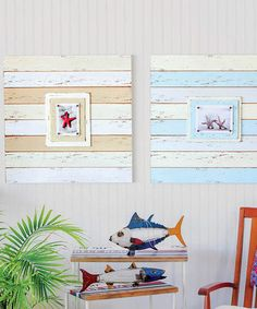 Look at this Plank Frame Set on #zulily today!