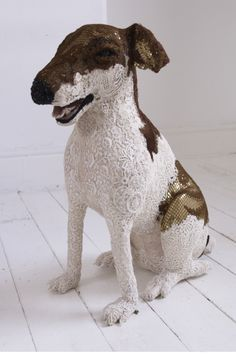 Donya Coward : Freestanding Dogs - Jack Russell Terrier