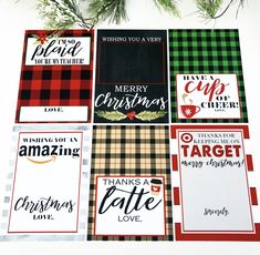Christmas Gift Card Holder Free Printables - Crisp Collective - - Gift cards are the perfect gift for anyone you want to make feel special this season! Make yours more festive with these fun free printables! Christmas Thank You Gifts, Christmas Gift Card Holders, Teacher Christmas Gifts, Daycare Teacher Gifts, Best Teacher Gifts, Christmas Holidays, Printable Gift Cards, Free Gift Cards, Gift Card Gifts