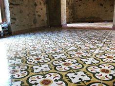 We love patterned cement tiles here's a good example.  #tiles #tiling #construction #constructionwork #tilesamples #refurb #refurbished #interiordesing #interior #interior_desing #renovation #renovations #floor #flooring #tilingwork #pic #pictures #pictureoftheday #tileaddiction #tileaddict #vintagetiles #tiletheworld #bathroompic #flooringinstalation #brighton #hove #uk by uncommontiling