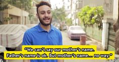 Egyptian Men Were Asked Their Mothers' Names. Here's Why No One Answered.