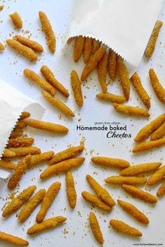 Gluten-Free Vegan Baked Cheetos
