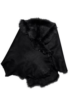 AKRIS Lambfur Collar Avantgarde, Capes, Vests, Accessories, Style, Fashion, Cape Clothing, Swag, Moda