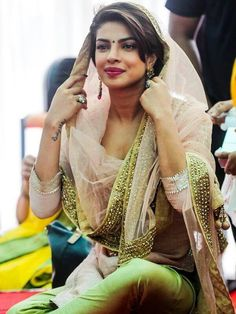 Priyanka Chopra in the Diwali festivities in India. It's our celebration with lights wishing of having health, prosperity and happiness!! So Happy Diwali to my Hindu family and lovely friends!!