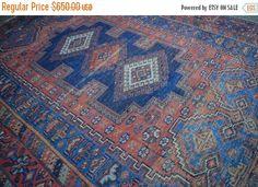 40% OFF SALE Antique Shirvan Caucasian Rug by TEKKARUG on Etsy