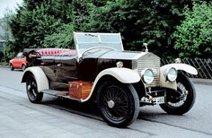 """1927 re-bodied Tourer by Horsfield and Son of Halifax in the style of a Barker """"Barrel sided"""" tourer (chassis GHJ54)"""