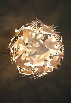 Boatswain Lighting, porcelain lighting, fine lighting design | Chandelier - May Ball