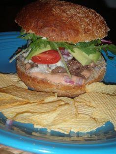 SENSA BBQ: Healthy Burger Recipe
