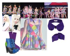 SNSD - Phantasia 2015 Tour by marisolmoua on Polyvore featuring polyvore fashion style Versus 99%IS clothing