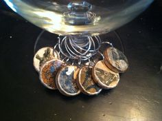 Animal Cork Wine Charms Drink Rings Tags by AccentsHomeDecor, $7.00