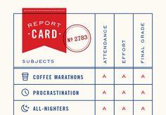 Funny Graduation Card Report Card Funny congratulations