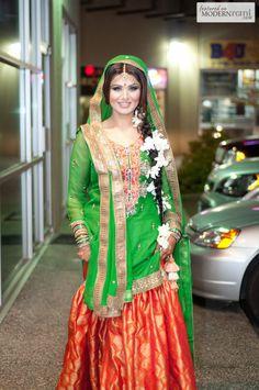 Mehendi Henna South Asian function - more inspiration @ www.ModernRani.com