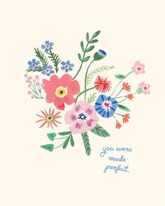 """""""You were made perfect"""" was what Drew Barrymore's father said to her before he passed. Illustration by Danielle Kroll for The House That Lars Built."""