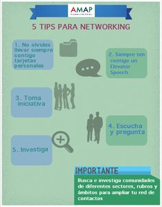 """5 Tips para Networking"""