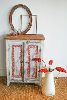 Vintage Parisian buffet - My Website 2020 Decoration, Sideboard, Parisian, Painted Furniture, Solid Wood, Decorative Boxes, Wallpaper, Interior, Frame