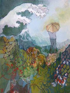 "Saatchi Art Artist justine formentelli; Painting, ""Rising above"" #art"