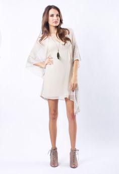 Flight Boutique : cynthia vincent studded caftan dress