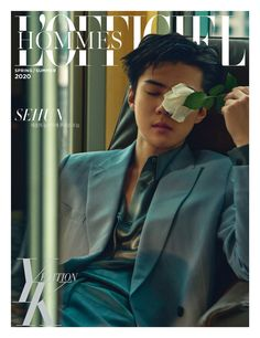 [EXO] SEHUN in photoshoot and interview for April's L'Officiel Hommes Baekhyun Chanyeol, Exo Chanyeol, Luhan And Kris, Z Cam, Fandom, Papi, My Spring, K Idols, Boy Groups
