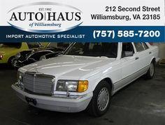 1991 Mercedes-Benz 420-Class 4 Dr 420SEL Sedan - $9,980