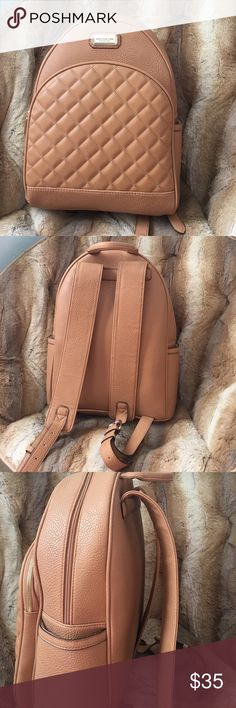 Jones New York leather backpack ✨ This is a luxurious and spacious backpack purse! Can be used as a backpack or purse ❤️ NEVER USED BRAND NEW!!!! NWOT Jones New York Bags Backpacks
