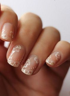 Let these stunning and original nail art designs inspire you for your big day!