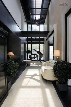 Interior | Black and White