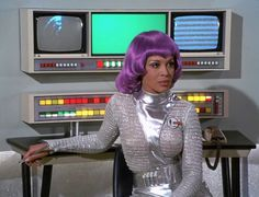 UFO Dolores Mantez as Moonbase operative color scene Ufo Tv Series, Sci Fi Series, Space Girl, Space Tv, Sci Fi Shows, Sci Fi Tv, Fiction Movies, Classic Monsters, Facon