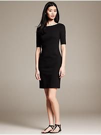 When it comes to stores it's bought... Black T-Shirt Dress