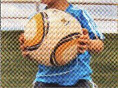 Introducción al fútbol para niños.