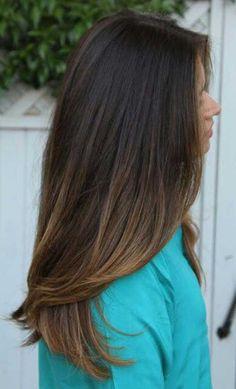 Ombre-Brunette-Straight-Hair.jpg (500×825)