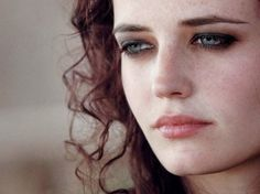 Eva Green ♡ The look in her eye...I  think I could write a book around only this pic.
