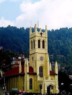 Christ Church & St. Michael's Cathedral, Shimla, India Copyright: Arunava Ghose