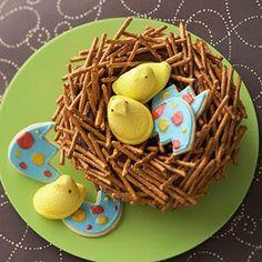 The Bride's Diary - Pregnancy & Parenting: Bird's Nest Birthday Cake