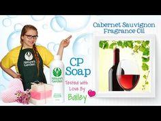 Soap Testing Cabernet Sauvignon Fragrance Oil- Natures Garden