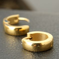 Punk Gold Plated Earring