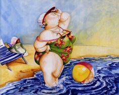 Bathing Beauty #4 Fine-Art Print by Tracy Flickinger at FulcrumGallery.com