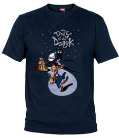 camiseta day of the dalek, day of the tentacle, dr. who, olipop - Lucasarts - Fanisetas.Com Pac Man, Miyazaki, Breaking Bad, Totoro, Soldado Universal, Day Of The Tentacle, Eddie The Head, Claude Van Damme, Lucas Arts