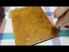 Imitación cuero super facil - YouTube Plastic Cutting Board, Decoupage, Ethnic Recipes, Diy, Youtube, Free Time, Origami, Videos, Decoupage Tutorial
