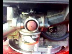Reglage tringlerie carburateur tecumseh