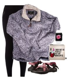 """Untitled #317"" by legitmaddywill ❤ liked on Polyvore featuring New Look, True Grit, Chaco and Sephora Collection"