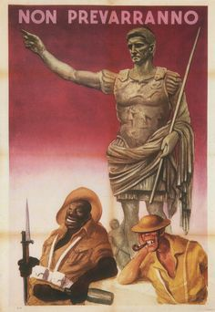 Italian poster, Gino Boccasile, 1944: Not Prevail