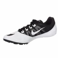 c81cf3f37 Nike Unisex Zoom Rival S7 Black and White Spiked Track Shoe - Free Shipping  On Orders