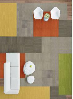 Community Library Planks Office Interior Design Vinyl