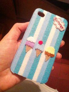 Felt fresh style iphone case