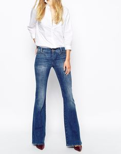 Image 1 ofMIH Jeans Marrakesh Flare Jeans