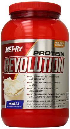 cool MET-Rx Protein Revolution Diet Supplement, Vanilla, 2.5 Pound